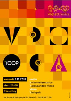 VIOLETTRONICA audiovisioni - musica elettronica, deep, techno e house in provincia di Salerno