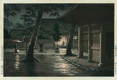 Tsuchiya Koitsu RARE Publisher 1933 Edition Japanese Woodblock Print | eBay
