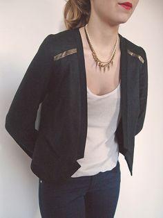 Veste Julia - Patron à télécharger - République du Chiffon