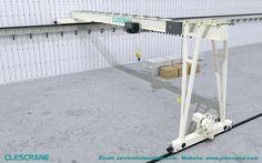 Single Girder Electric Hoist Gantry Crane Single girder electric hoist gantry crane  gives exceptionally extensive cover of the floor area.