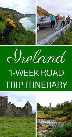 Ireland Road Trip Itinerary // 1 Week Driving Across The Emerald Isle.