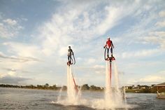Find your element in Central Florida with Absolute Aqua Sports' flyboarding! #water #CentralFL #Polk #winterhaven #LakeActivities