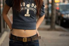 Aside from the jewelry this is what I want my stomach to look like.