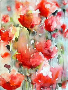 Poppy Field V, Karin Johannesson