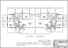Family Housing Floor Plan Type 4 (8 units)