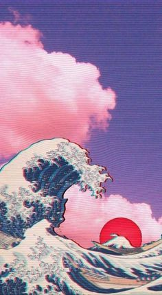Coque Retrowave Kanagawa