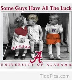Some Guys Have All The Luck - Alabama Crimson Tide Pictures | TidePics.com