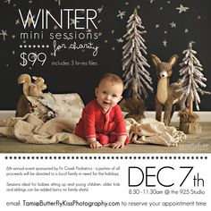 Winter Mini Sessions for Charity …