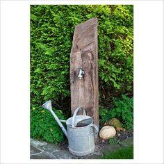 Great outdoor tap.