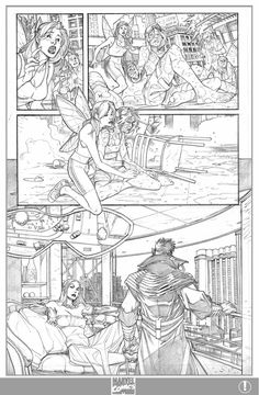 X-men 1 Page 5 Pencils by ElVlasco.deviantart.com on @deviantART