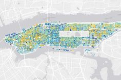 Urban Demographics: The Rise and Fall of Manhattan's Density (updated)