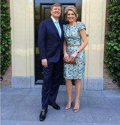 Viering 200 jaar koninkrijk   Willem Alexander en Máxima in Maastricht (30/08/2014) #dutch #royals