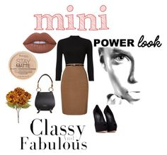 """#minime"" by rawal-sadhana on Polyvore featuring Burberry, Phase Eight, Rimmel, Lime Crime and Giuseppe Zanotti"