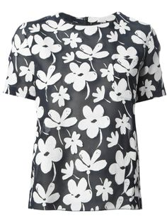 Shirt MARNI EDITION   #inthegarden #flowers #trend #woman à#apparel #accessories #style #fashion #spring #summer #collection #marni