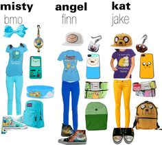 """adventure time outfit"" by kat-vanity-mimona on Polyvore"