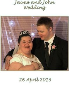 Down Syndrome Marriage....... How wonderful !