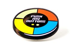 Push My Buttons Pin