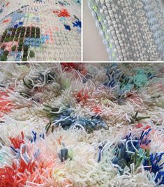 Hermine Van Dijck, weaving, texture and some colour