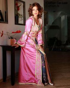 Kaftan robe marocaine de leila hadioui modèles 2014