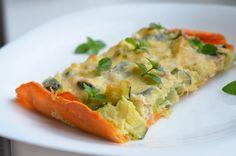 Cuketový lowcarb quiche (Zucchini quiche) – Chef MUM