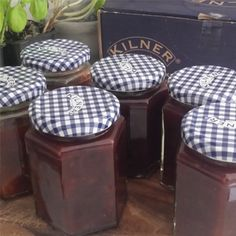 This delicious Plum chutney is an ideal way of making use of Plums when they are in-season. Serve Plum chutney on burgers, with grilled chicken, or as an accompaniment to a cheese board. A Kilner jar filled with Plum chutney also makes a lovely gift. Plum Chutney, Kilner Jars, How To Make Jam, Odd Stuff, Chutney Recipes, Jam Jar, Chutneys, Marmalade, Canning Recipes