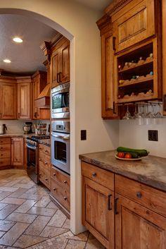 Rustic Walnut Kitchen Cabinets And Furniture Portfolio Pinterest Kitchens