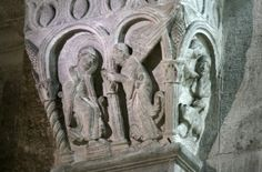 Annunciation of St. Anne, Autun Cathedral, Autun, France, 12th c.