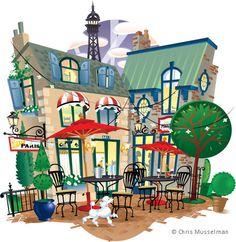 Chris Musselman Paris Illustration