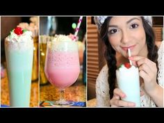 DIY Shamrock Shake & Cotton Candy Frap! - YouTube Guys, this could be dangerous. Use with caution!