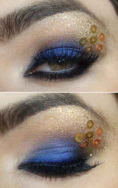 Olhos carnaval
