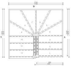 Risultati immagini per switchback stairs with winders