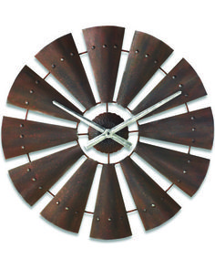 Browse Black Forest Decor right now and enjoy markdowns up to on rustic clocks and wildlife clocks, including this Windmill Metal Clock! Windmill Clock, Wooden Windmill, Farm Windmill, Windmill Blades, Windmill Decor, Western Wall Decor, Black Forest Decor, Rustic Cabin Decor, Country Decor