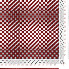 Hand Weaving Draft: Page 181, Figure 1, Orimono soshiki hen [Textile System], Yoshida, Kiju, 4S, 4T - Handweaving.net Hand Weaving and Draft...