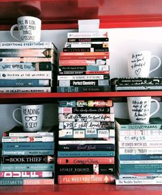 """bookishhmarie: """"Can never have too many mugs, amiright? """""""