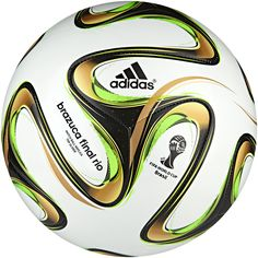 Bola Brazuca Glider Final Rio Copa do Mundo da FIFA 2014™ adidas | adidas Brasil