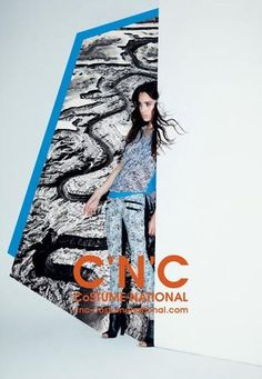 #CostumeNational - C'N'C Costume National S/S 13 Campaign