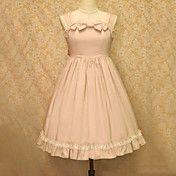 Sleeveless Knee-length Cotton Sweet Lolita Dr... – USD $ 109.99