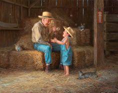 "☆`•.¸¸.✻ ♥♥ HUGS ♥♥~☆`•.¸¸.✻ ♥♥ HUGS ♥♥~☆`•.¸¸.✻ ♥♥~ ""Nobody can do for little children what Grandparents do. Grandparents sort of sprinkle stardust over the lives of children."" ~Alex Haley   Artist: Mark Keathley https://www.facebook.com/photo.php?fbid=447063778706161=a.385369104875629.91608.364227193656487=1"