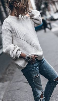 sweaters for women Norwegian Knitting Sweater How To, New 2019 - Page 25 of 50 - apronbasket . Sie Pullover Muster sweaters for women Sweater Outfits, Fall Outfits, Casual Day Outfits, Classy Outfits, Look Fashion, Winter Fashion, Norwegian Knitting, Looks Street Style, Sweater Weather