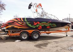 Boat wrap, for a whole new look
