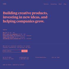 Fonts Used: Tiempos Headline and Input Mono · Typewolf Typography Inspiration Design Web, Web Design Quotes, Minimal Web Design, Website Design, Website Layout, Web Layout, Layout Design, Design Files, Flat Design