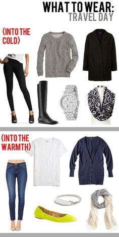What to wear on travel day!