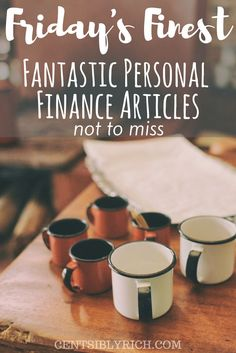 Don't miss these fine personal finance articles this week. The theme - gratitude and inspiration!