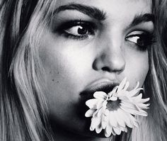 Unpublished shot of Daphne Groeneveld photographed by Lachlan Bailey for Twin Spring/Summer 2013.