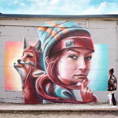 Renards apprivoisés... / Street art. / By yash-one.