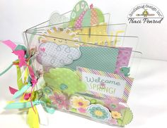 Spring Things Collection: Amazing Acrylic Album by Traci of Artsy Albums (with bonus video)
