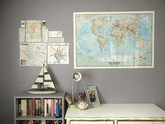 maps and sailboats