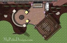 Pergola Patio Design   Patio Designs and Ideas