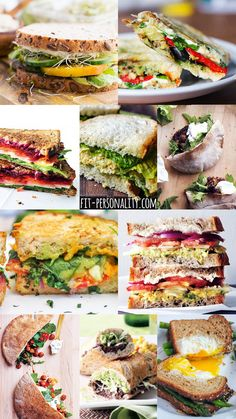 10 Delicious Vegetarian Sandwiches - Fit Personality