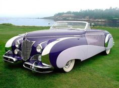 "Probably the most flamboyant coachwork ever!    This is 1948 Cadillac Series 62 Saoutchik ""3-position drophead"", which is also drop-dead gorgeous..."